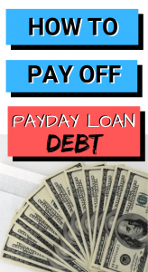 5 easy ways to get out of payday loan debt